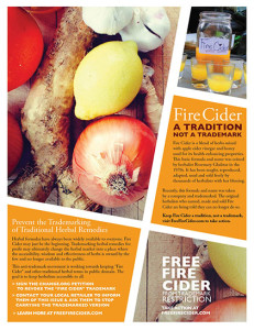 Free Fire Cider Poster/Flyer. Click to download.